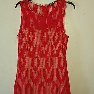 Red long dress. Never been worn.